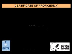 Elite Certification 2017